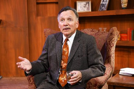 The Ben Hecht Show starring playwright/actor James Sherman will be part of the Jewish theatre Festival. (Photo courtesy of TGeatron)