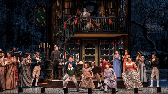 Seeing A Christmas Carol at Goodman Theatre (2018 production)is a holiday tradition. (Goodman Theatre photo)