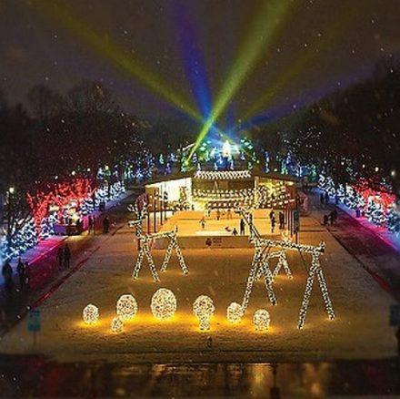 Holiday Magic (East Mall) at Brookfield Zoo. (Brookfield Zoo photo)