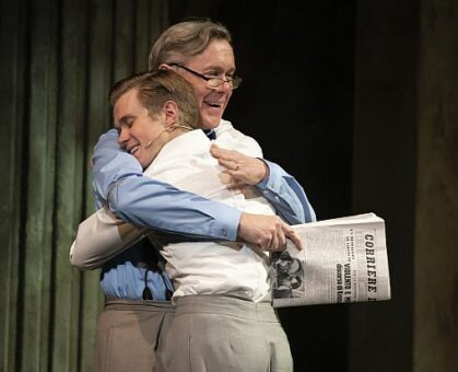 Rob Houchen and Alex Jennings in The Light in the Piazza. (Liz Lauren photo)