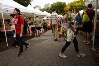 Green City Market (Chris Cassidy photo)