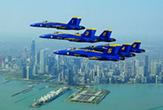 Unfortunately, most Chicago summer events have been canceled, including the Air and Water Show .(City of Chicago photo)
