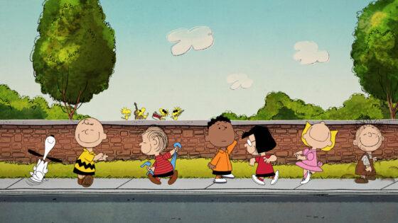 Peanuts crowd move to AppleTV (AppleTV and WildBrain Shows photo)
