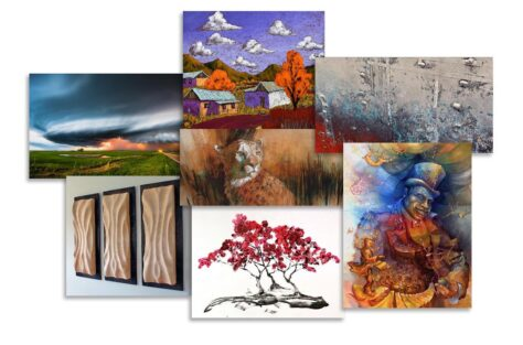 Photo courtesy of artists participating in a virtual art fair.