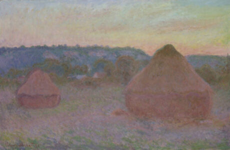 Claude Monet, Stacks of Wheat, (Art Institute of Chicago photo)