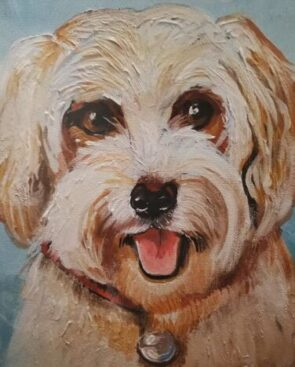 An Art Center of Highland class is on painting your pet. (TAC photo) Park the
