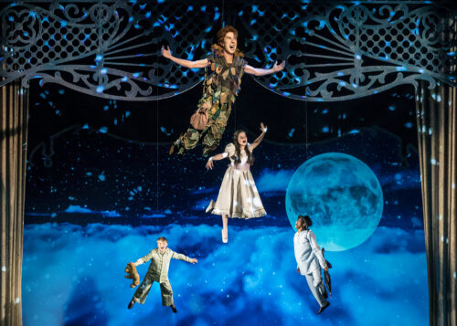 Peter Pan: A Musical Adventure at Chicago Shakespeare Theater. (Photo by Liz Lauren)