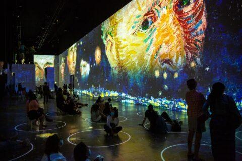 Immersive Van Gogh in Chicago (Michael Brosilow photo)