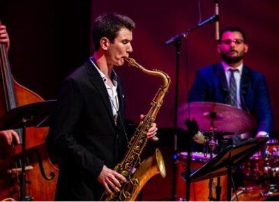 Jazz Grandstand Friday, June 11, 6:00 p.m. - Livestream from Bennett Gordon Hall Ravinia Steans Music Institute RSMI Program for Jazz Free livestream on YouTube.com/RaviniaFestival - No in-park admission. (Photo courtesy of Ravinia Festival)