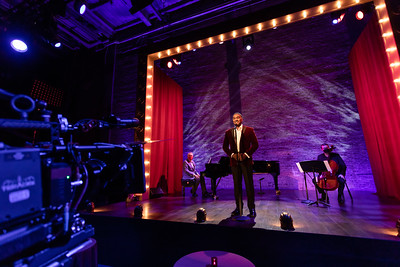Vocalist Norm Lewis in The New Classics at Lyric Opera of Chicago. (Photo by Kyle Flubacker)