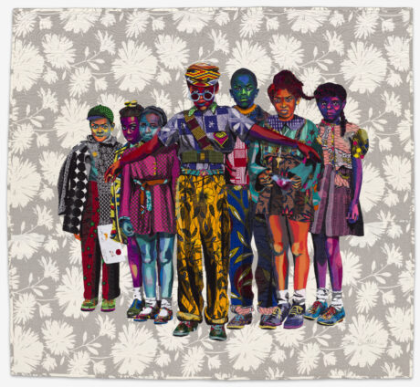 The Safety Patrol is among Bisa Butler: Portraits at the Art Institute of Chicago. (artists photo)