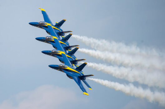 Navy Blue Angels to fly over Chicago. (Photo courtesy of the US Navy Blue Angels)