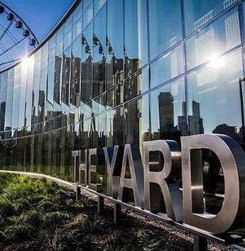 The Yard at Chicago Shakespeare Theater. (J Jacobs photo)