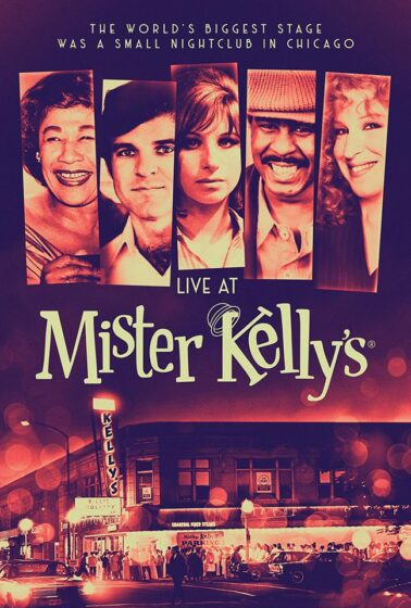 Live at Mr. Kelly's documentary. (Photo courtesy of the film's producers