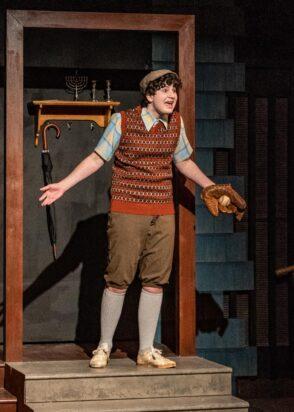 Siah Berlatsky as EugeneBrighton in Beach Memoirs at Citadel Theatre.