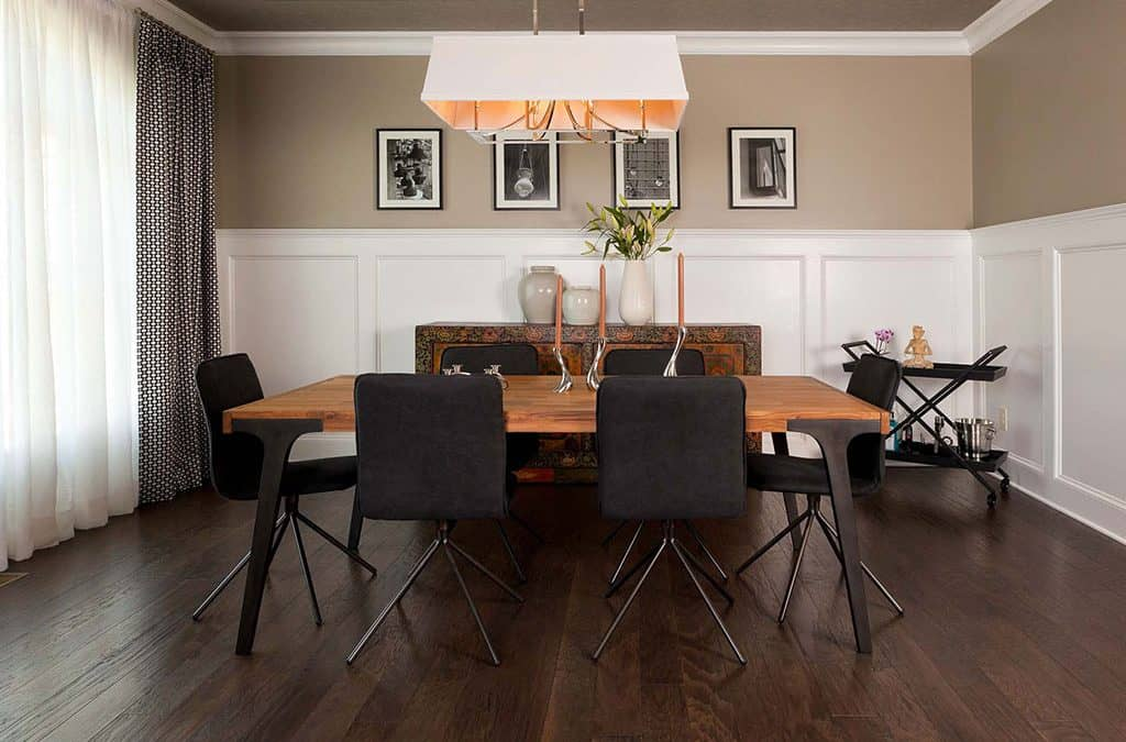 Modern Eclectic Design juxtaposes New with Old