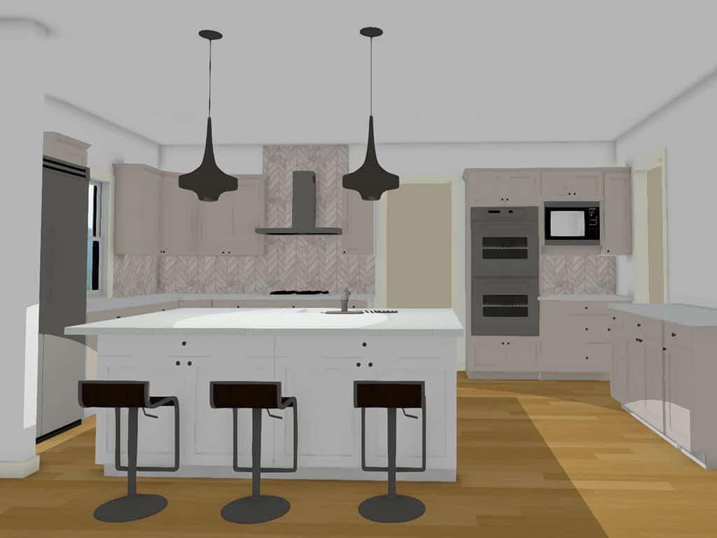 3D.kitchen.rendering. couture.haus.interior.design