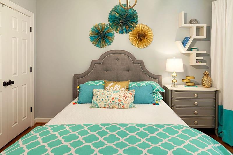 colorful bedroom interior design