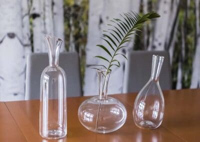 modern glass vases