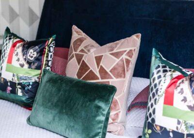 Modern pillows