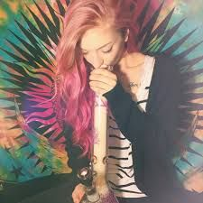 good looking redhead with water pipe