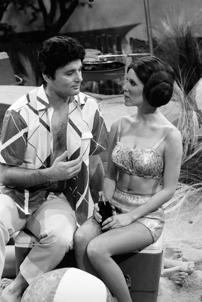 bill murray and carrie fisher