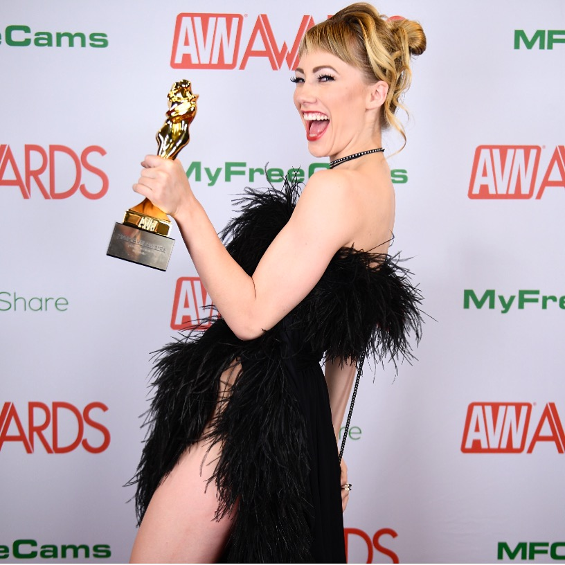 blonde starlet of the year avn 2019