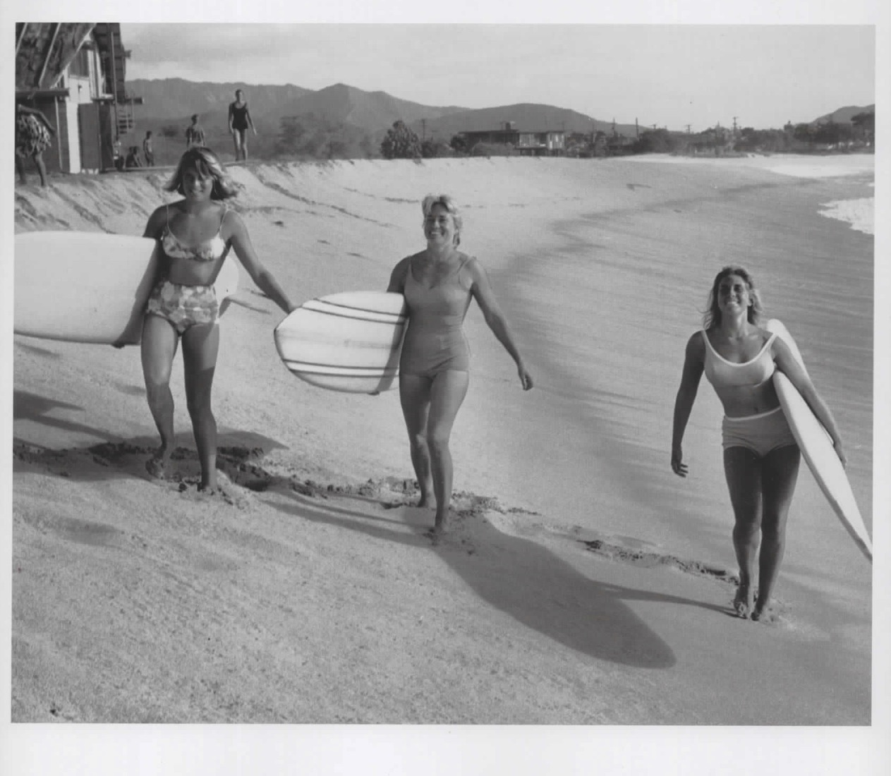 surfer girls in the 1960s