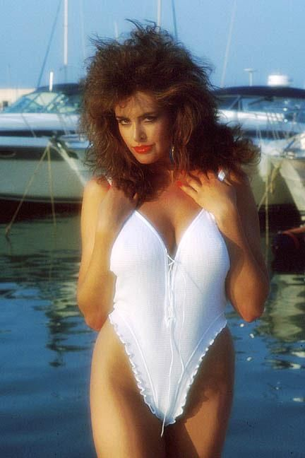 brunette white bikini big hair boats boating boat