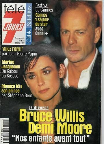 bruce willis divorce marriage split demi moore