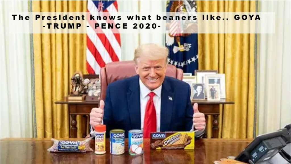 beaners for trump