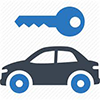 car and key icon