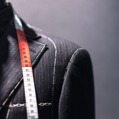Mannequin,With,Basted,Jacket,By,A,Tailor