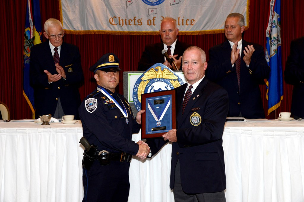 New ENgland Association of Chiefs of Police Medal of Valor Award