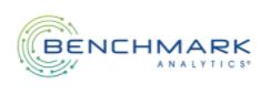 text logo benchmark analytics