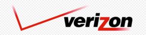 red checkmark with verizon text logo