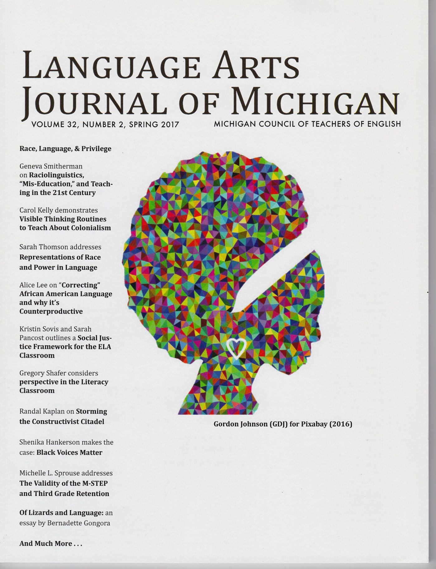 The consequential validity of the M-STEP | Language Arts Journal of Michigan