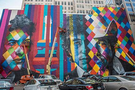 dylan mural