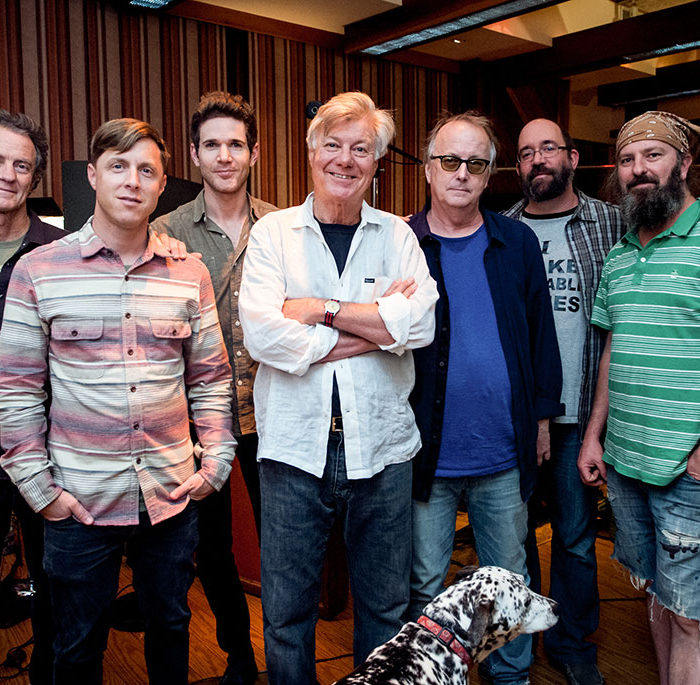 In studio with 'Radio Songs'