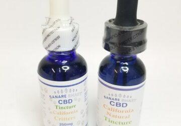 Sanare smart CBD tincture 250mg