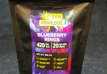 Blueberry Rings 420mg
