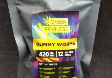 Gummy Worms 420mg