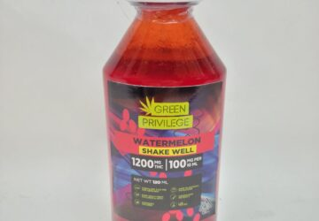 Watermelon THC syrup 1200mg