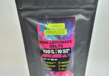 Pink Lemonade Belts 420mg