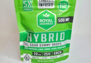 Sour Gummy Drops (Hybrid) 500mg