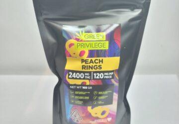 Peach Rings 2400mg