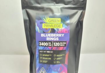 Blueberry Rings 2400mg