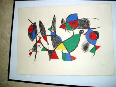 Miro - Lithograph II