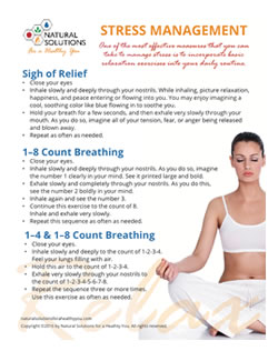 breathing techniques for stress management