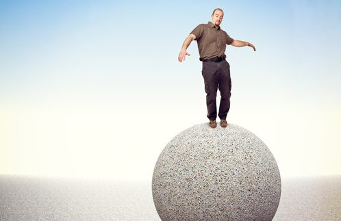 finding balance on a sphere